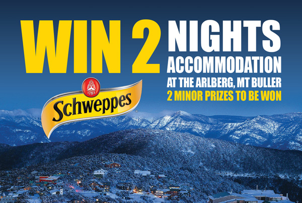 Schweppes POS Competition Pads
